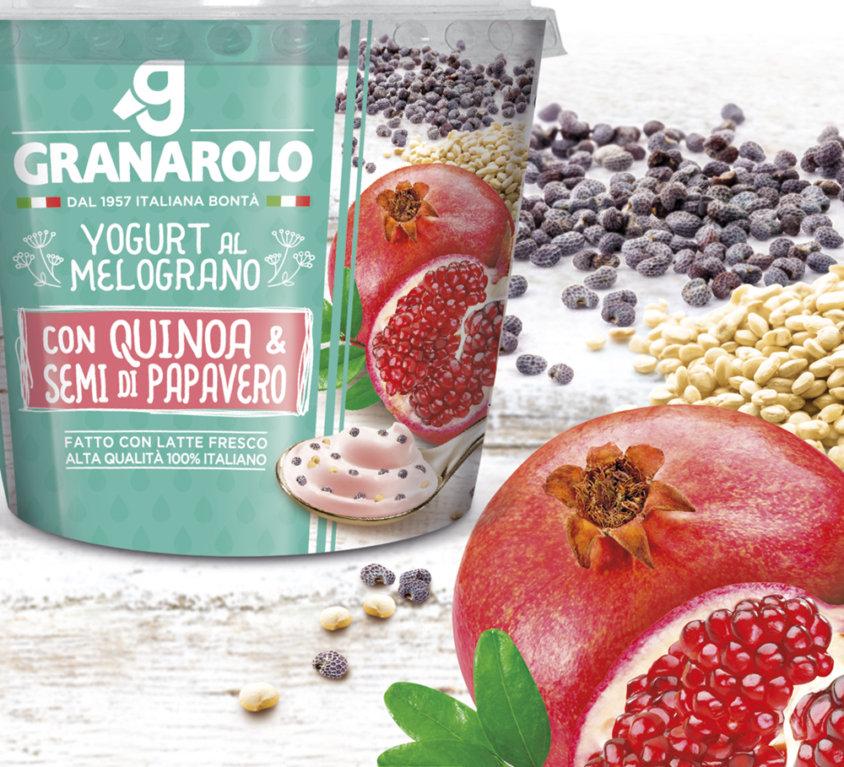 Restyling packaging, Granarolo