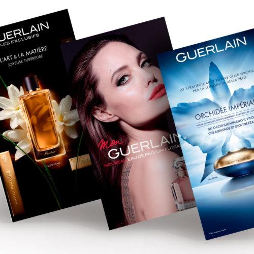 Banner e newsletter, Guerlain